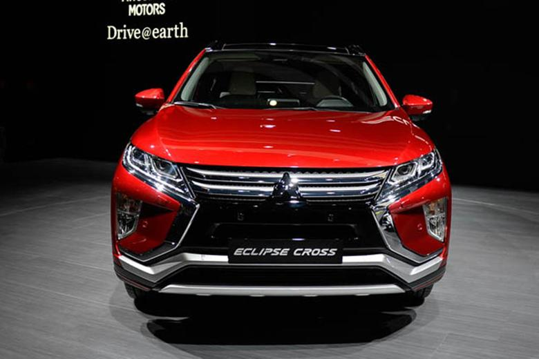 2018 Mitsubishi Eclipse Cross Geneva Auto Show Video