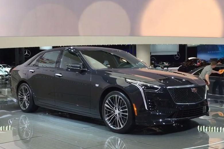 Video Cadillac Ct6 V Sport New York Auto Show Autotrader