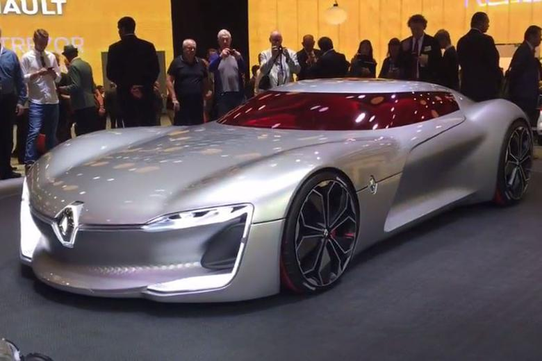 6 Cool Cars From The Paris Auto Show
