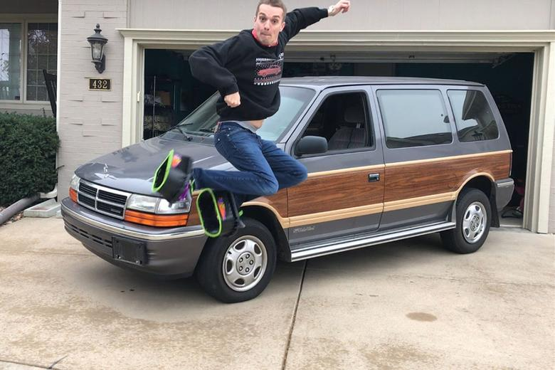 Introducing My Winter Beater 1991 Dodge Caravan Awd Woody With Just
