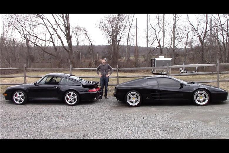 1990s battle ferrari 512tr vs porsche 911 turbo autotrader. Black Bedroom Furniture Sets. Home Design Ideas