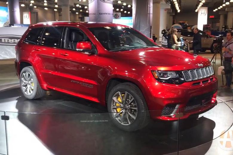 2018 Jeep Grand Cherokee Trackhawk New York Auto Show