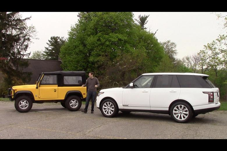 Which Used Land Rover For 70 000 Range Rover Vs Defender Autotrader