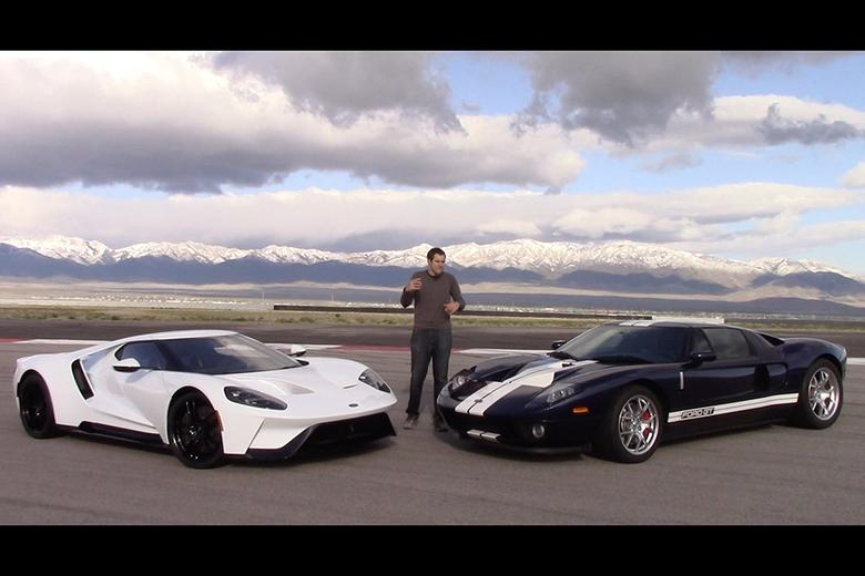 2017 Ford Gt Vs 2005 The Comparison Test