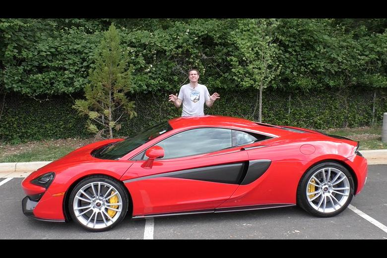 is the mclaren 570s the next great sports car bargain? - autotrader