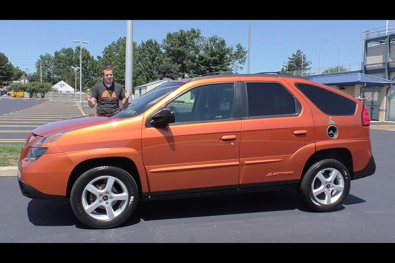 Here S Why The Ugly Pontiac Aztek Is Actually Kind Of Cool Autotrader