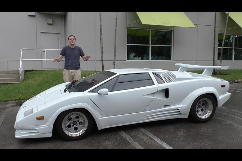 Here\u0027s Why the Lamborghini Countach Is Worth $300,000