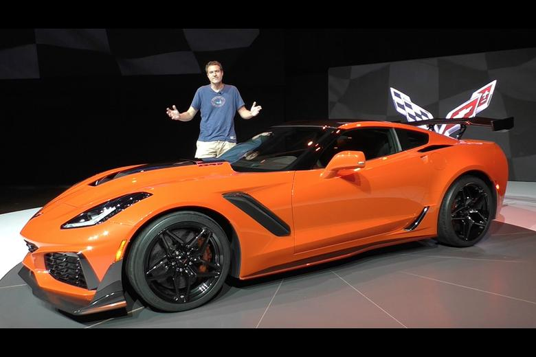 Here S A Tour Of The 2019 Chevy Corvette Zr1 Autotrader