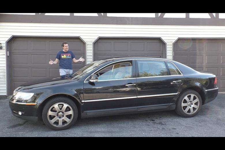 I Recently Had The Opportunity To Drive A 2004 Volkswagen Phaeton W12 Which Was Loaned Me By Viewer Here In Pennsylvania Not Far From Where Live