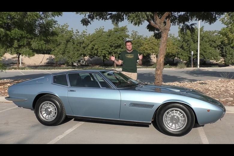 Video | The 1970s Maserati Ghibli Is Very Different From the ...