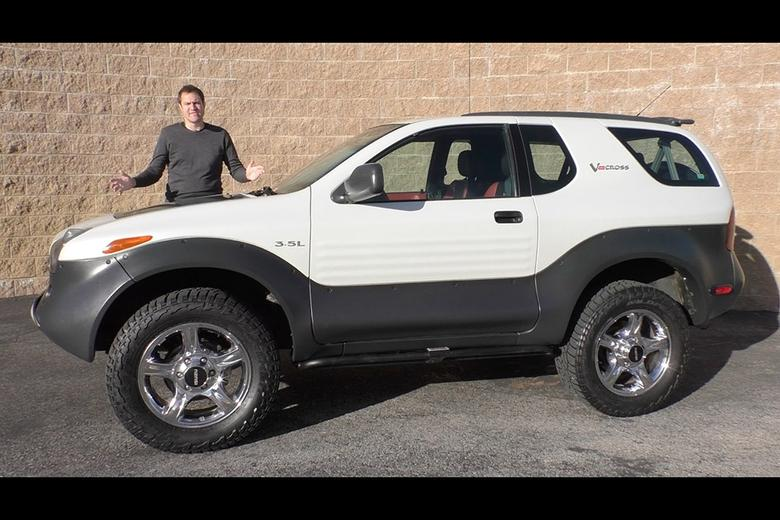Video the isuzu vehicross is the weird suv youve forgotten i recently had the chance to drive a 2001 isuzu vehicross which is a sport utility vehicle that is absolutely bizarre the primary reason its bizarre is sciox Image collections