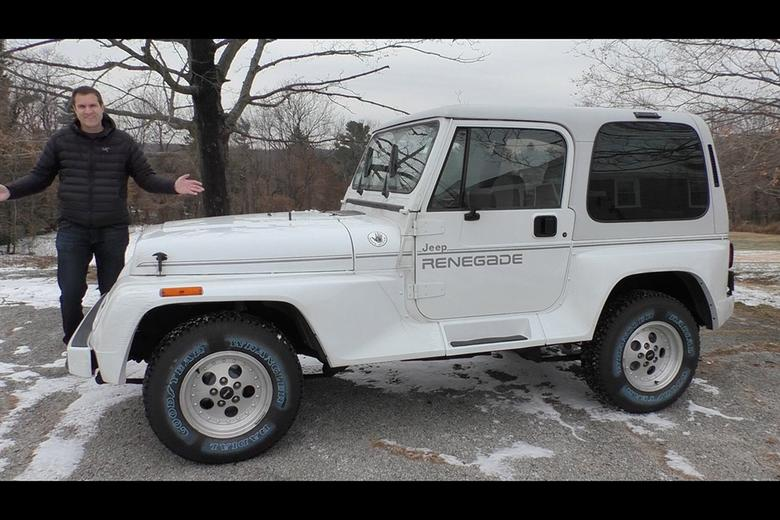 Jeep Wrangler Renegade >> Video I Drove A Pristine Jeep Wrangler From 1993 Autotrader