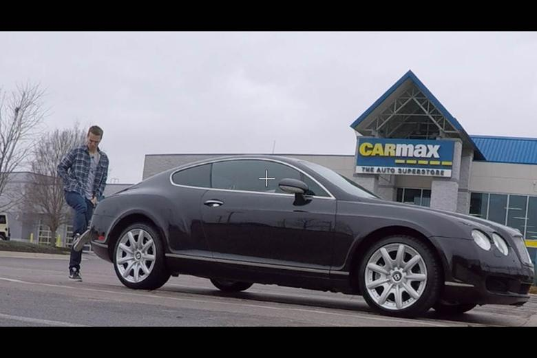 Video I Took My Broken Bentley Continental Gt To Carmax For An