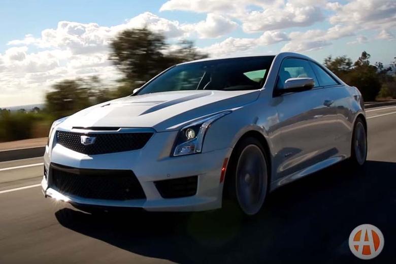 Cadillac Cts V Autotrader >> 2016 Cadillac ATS-V: 5 Reasons to Buy - Video - Autotrader