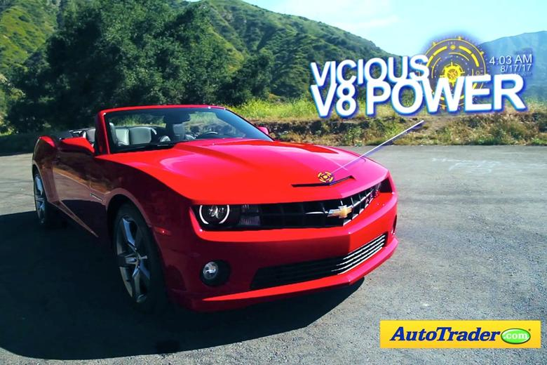 2012 chevrolet camaro ss convertible 5 reasons to buy video autotrader. Black Bedroom Furniture Sets. Home Design Ideas