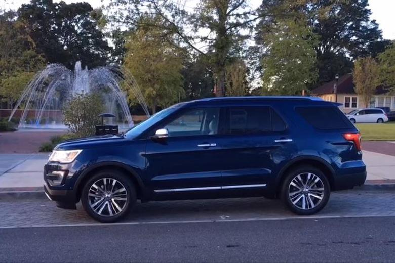 2017 Ford Explorer Platinum: Real World Review - Video ...