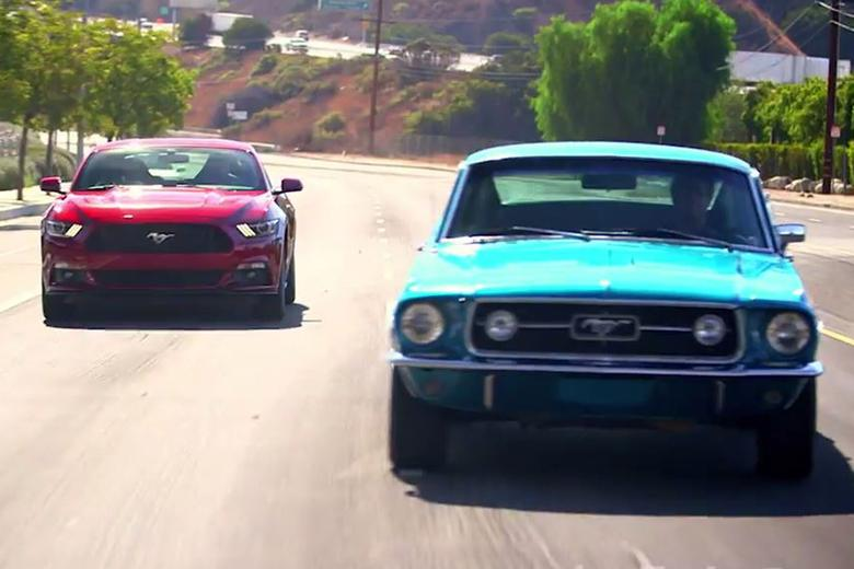 New Or Classic 2015 Ford Mustang Gt Vs 1967 Mustang Gt