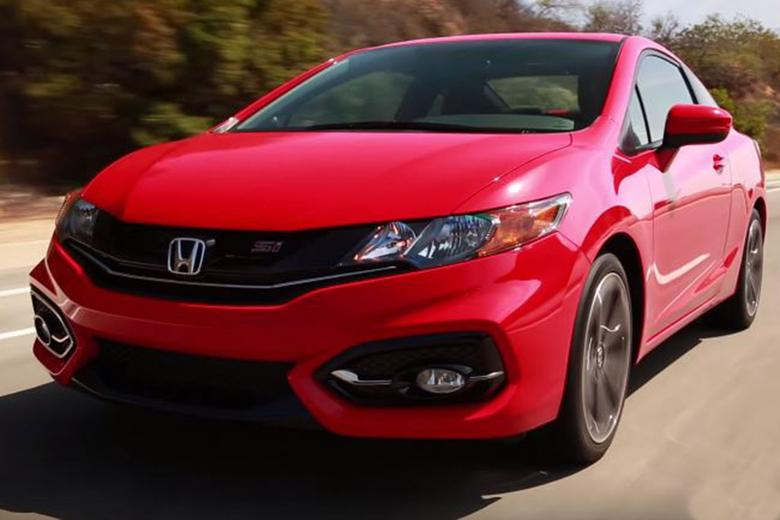 2015 honda civic si coupe 5 reasons to buy video autotrader. Black Bedroom Furniture Sets. Home Design Ideas
