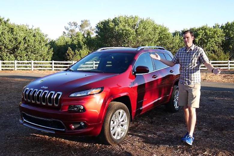 2017 jeep cherokee overland the best cherokee video autotrader. Black Bedroom Furniture Sets. Home Design Ideas