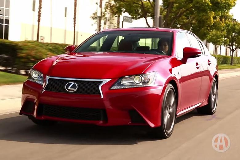 2015 lexus gs 350 f sport 5 reasons to buy video autotrader. Black Bedroom Furniture Sets. Home Design Ideas