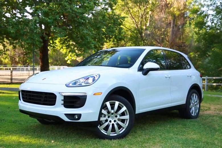 there is a lot of talk these days about high performance suvs and more often than not thats really all it is talk the 2016 porsche cayenne is clearly