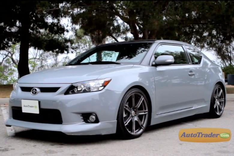2012 scion tc new car review video autotrader. Black Bedroom Furniture Sets. Home Design Ideas