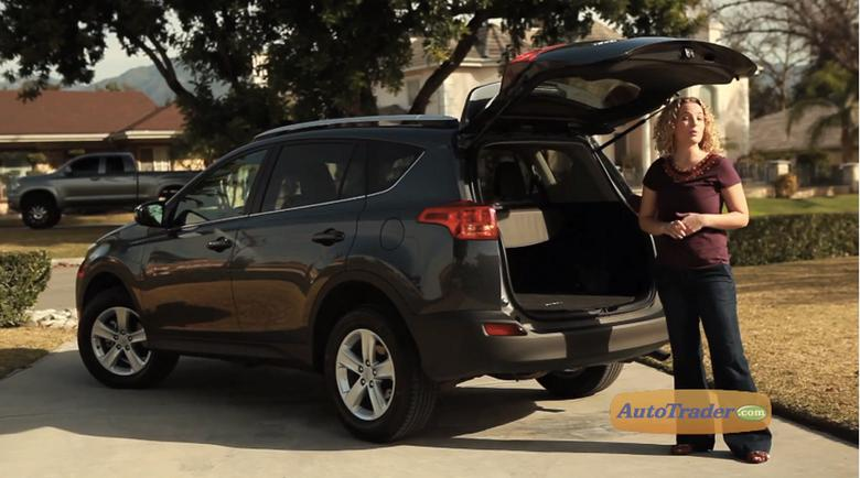 On the 2013 Toyota RAV4 the rear door no longer swings out like it did in previous generations. The RAV4 now has a more traditional rear cargo door that ... & Does the 2013 Toyota RAV4 still have a rear door that swings out ...