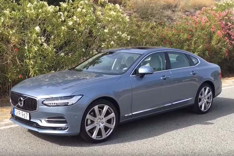 2017 volvo s90 first drive review video autotrader. Black Bedroom Furniture Sets. Home Design Ideas