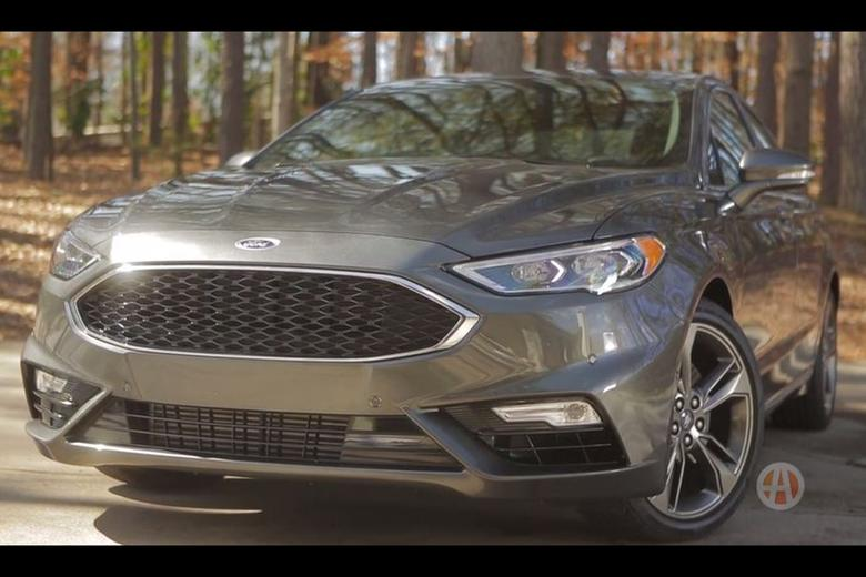 2017 ford fusion sport real world review video autotrader. Black Bedroom Furniture Sets. Home Design Ideas
